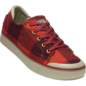 Keen Elsa III Tennarit Naiset, red plaid/plaza taupe